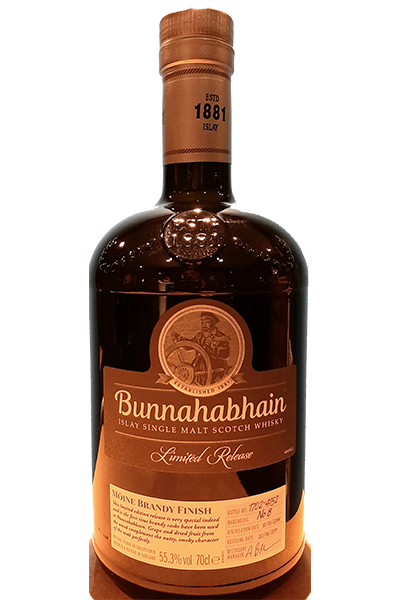Bunnahabhain Moine Brandy Finish